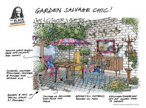 Garden Salvage Chic