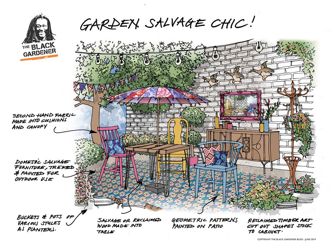 Garden Salvage Chic