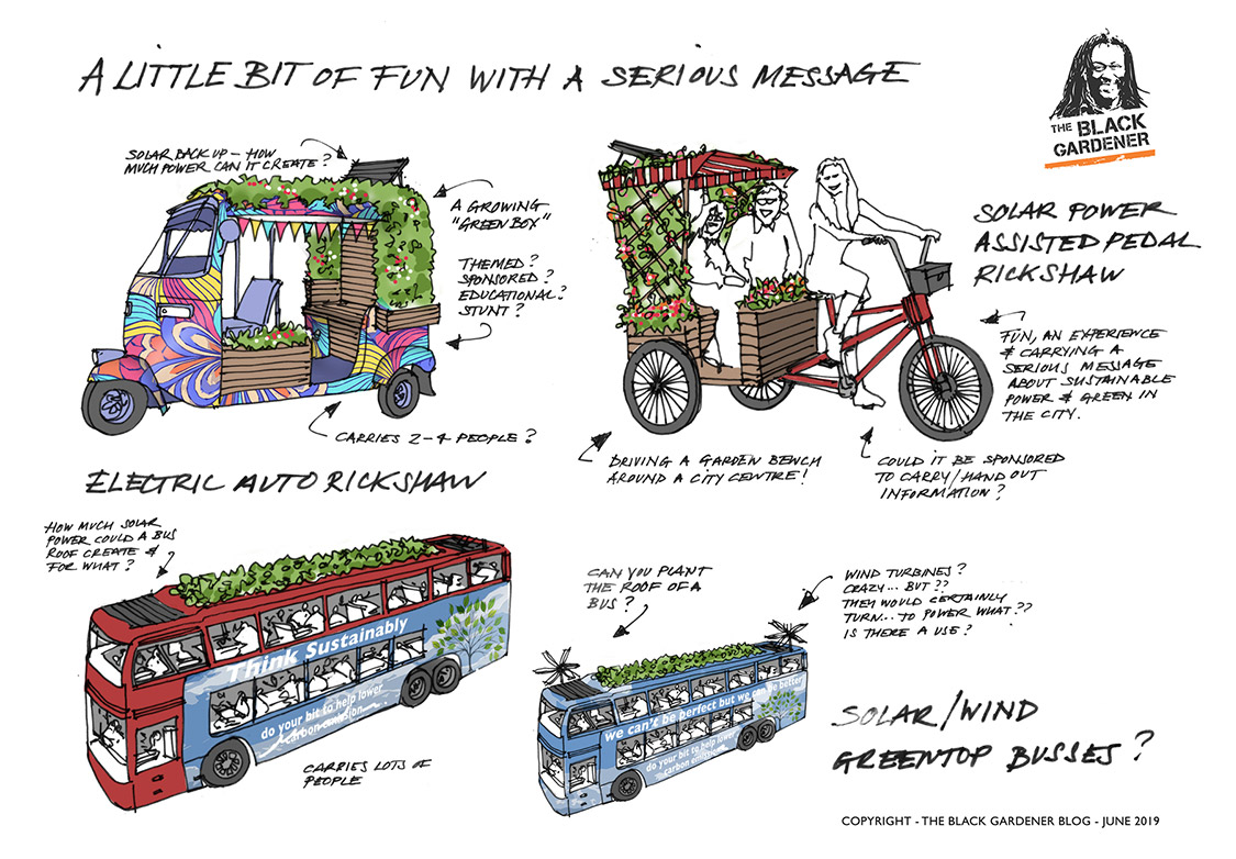 Mobile Gardens for Chelsea and other thoughts……