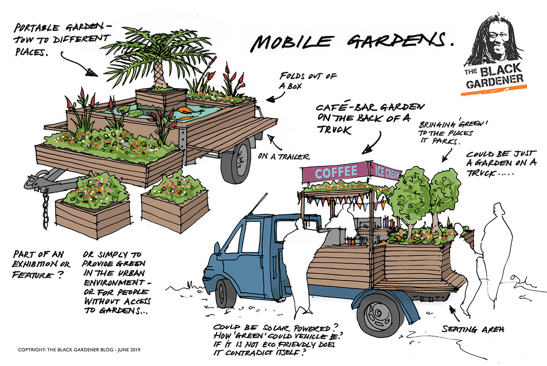 Mobile 'Pop-up' Gardens