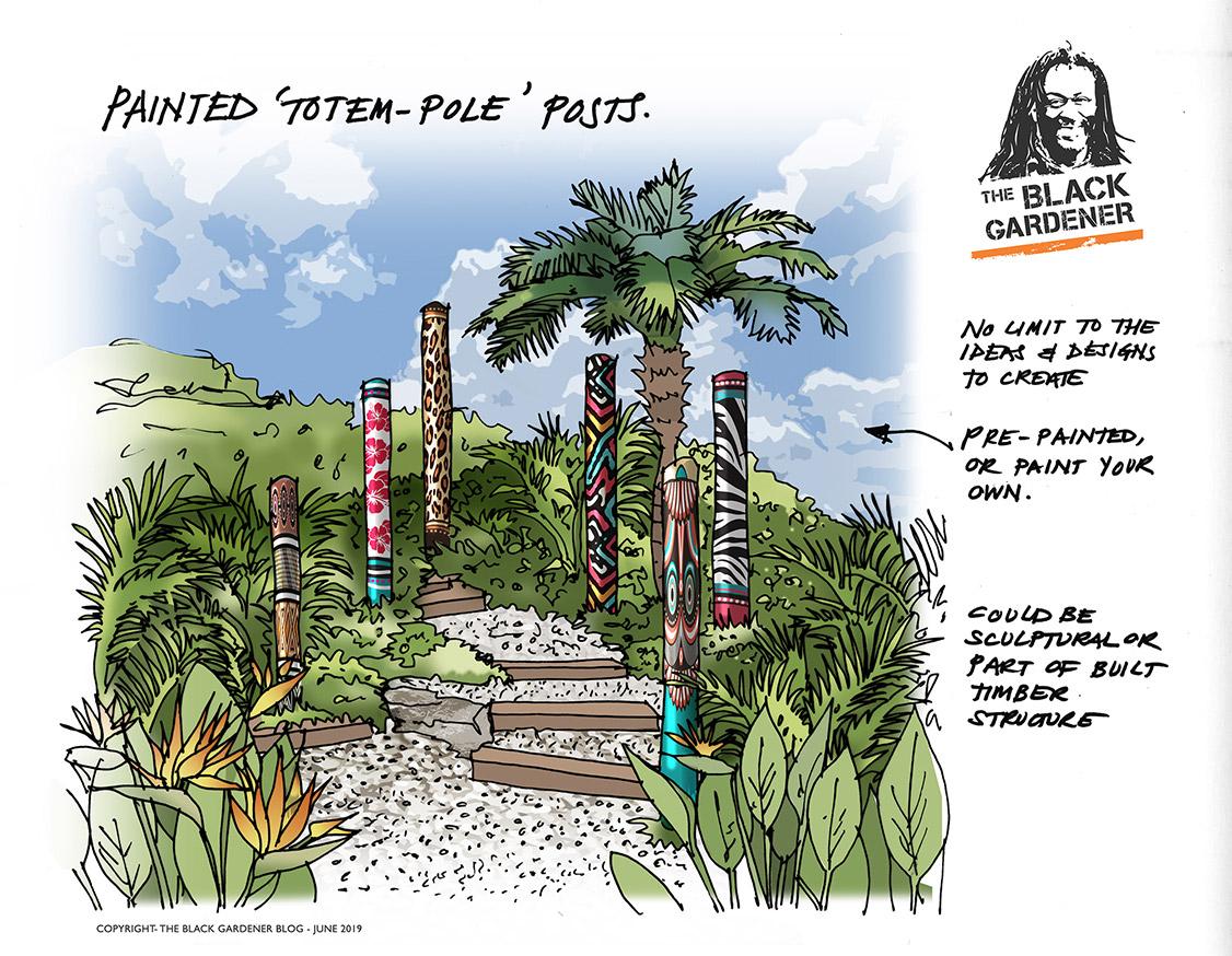 Totem Pole Posts